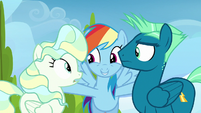 """Rainbow Dash """"two of the greatest flyers"""" S6E24"""