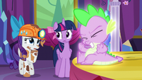 Rarity --B-b-but the Dragon Lands are full of...-- S6E5