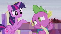 Spike --I think it already is-- S5E25