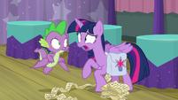 "Twilight Sparkle ""it's starting!"" S9E16"