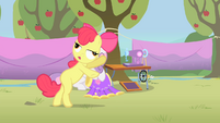 Apple Bloom with lazy eyes S1E18