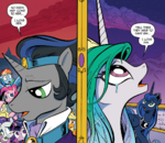 Comic issue 18 Sombra and Celestia.png