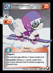 Double Diamond, Air Drop card MLP CCG.jpg