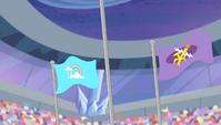 Equestria Games podium second and third S04E24