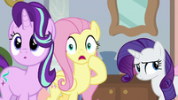 Fluttershy gasping in shock S8E25