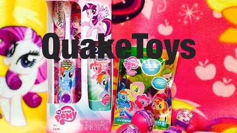 My Little Pony Blind Bag Wave 11 Spitfire (YAY) Squishy Pops Mystery Surprise Toys and Spin Brush!
