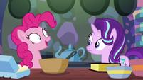 """Pinkie Pie mechanically """"okie-dokie!"""" S6E21"""