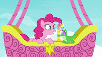 """Pinkie Pie spies """"something that is blue!"""" S7E11"""
