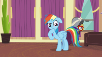 "Rainbow Dash ""there is a pony downstairs"" S6E13"