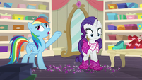 """Rainbow Dash """"tripping with every step"""" S8E17"""