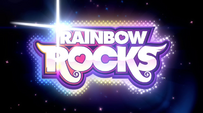 Rainbow Rocks first opening sequence logo EG2