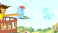 Rainbow getting pulled away by Cheese S4E12