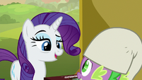 """Rarity """"I know how much you enjoy it"""" S9E19"""