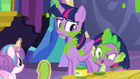"""Spike """"favorite thing to decorate a room with"""" S7E3"""