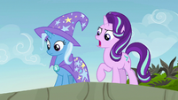 "Starlight Glimmer ""we're not leaving you!"" S7E17"