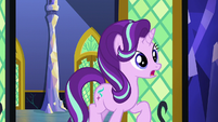 Starlight asking Twilight about the Crystal Empire S6E1