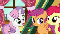 """Sweetie Belle """"you two can handle our client"""" S7E6"""