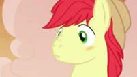 Bright Mac blushing at Pear Butter's love confession S7E13