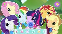 "Equestria Girls using ""Pony"" selfie filter EGDS44"