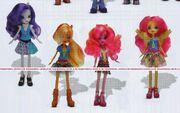 Friendship Games School Spirit Wondercolts dolls