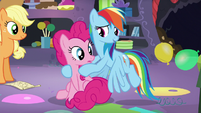 """Rainbow """"across Equestria to plan one party?"""" S5E11"""