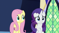 Rarity imagining unfinished seams S8E15