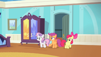 """Scootaloo """"moping in here for almost the entire Games"""" S4E24"""