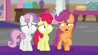 "Scootaloo ""went different in my head"" S8E12"