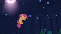 Scootaloo sighing in disappointment S8E6
