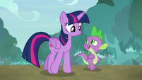 """Spike """"I hope the gem tart stall is still there"""" S9E18"""