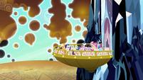 Total shield collapse S03E02