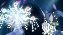 Tree of Harmony glowing brightly S7E26