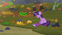 Twilight sighing in utter defeat S5E23