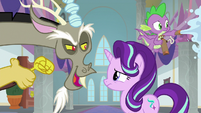Discord -won't Twilight be so disappointed- S8E15