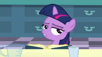 Filly Twilight -But according to this book- S5E12