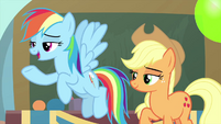 """Rainbow Dash """"set up and hosted by"""" MLPS3"""