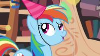 Rainbow Dash -oh right- S4E04