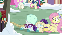 Rarity gets caught in Twilight's list MLPBGE