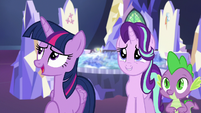 """Twilight Sparkle """"well, not exactly"""" S6E24"""