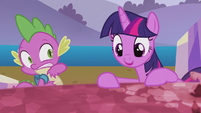 "Twilight startles Spike ""that's it!"" S5E25"