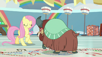 Yona continues practicing with Fluttershy S9E7