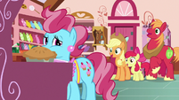 AJ, Apple Bloom, and Big Mac ask what happened next S7E13