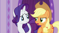 Applejack --I came here to have a steam-- S6E10