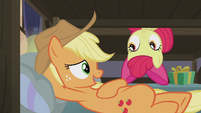 Applejack -it wouldn't surprise me in the least- S5E20