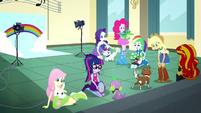 Mane Six playing with their pets SS7