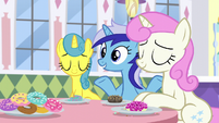 "Minuette ""She lives in Ponyville, too"" S5E12"