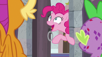 """Pinkie Pie """"is this the shouting closet?!"""" S8E11"""