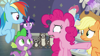 """Pinkie Pie """"she called them 'rodents'?!"""" S8E4"""