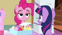 Pinkie Pie takes out another file S7E3