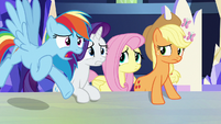 """Rainbow """"how are we supposed to learn"""" S9E13"""